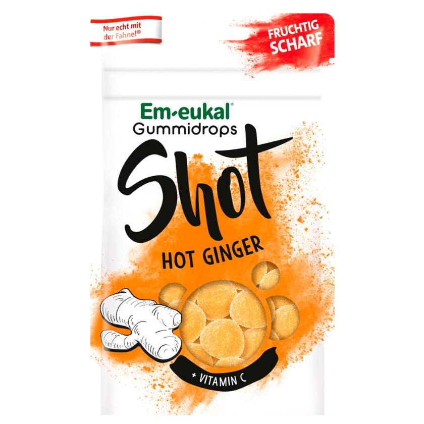 Em-eukal Gummidrops Shot Hot Ginger 65g