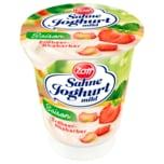 Zott Sahne Joghurt Saison Erdbeer-Rhabarber 150g