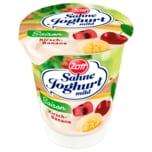 Zott Sahne Joghurt Saison Kirsch-Banane 150g