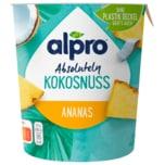 Alpro Absolutely Joghurtalternative Kokosnuss-Ananas 350g