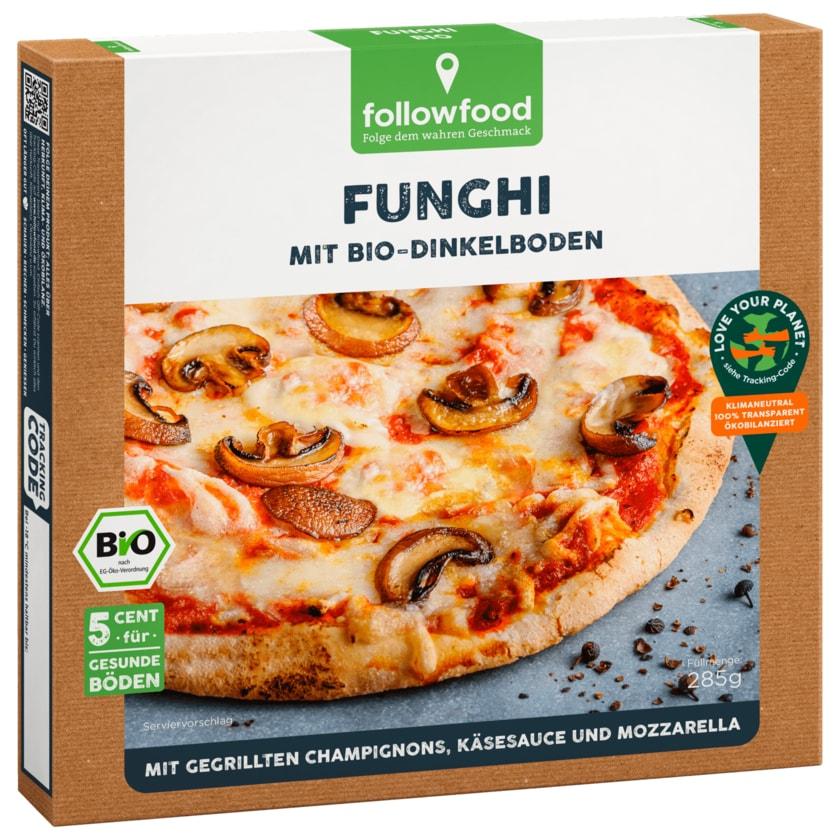 followfood Bio Pizza Funghi 285g