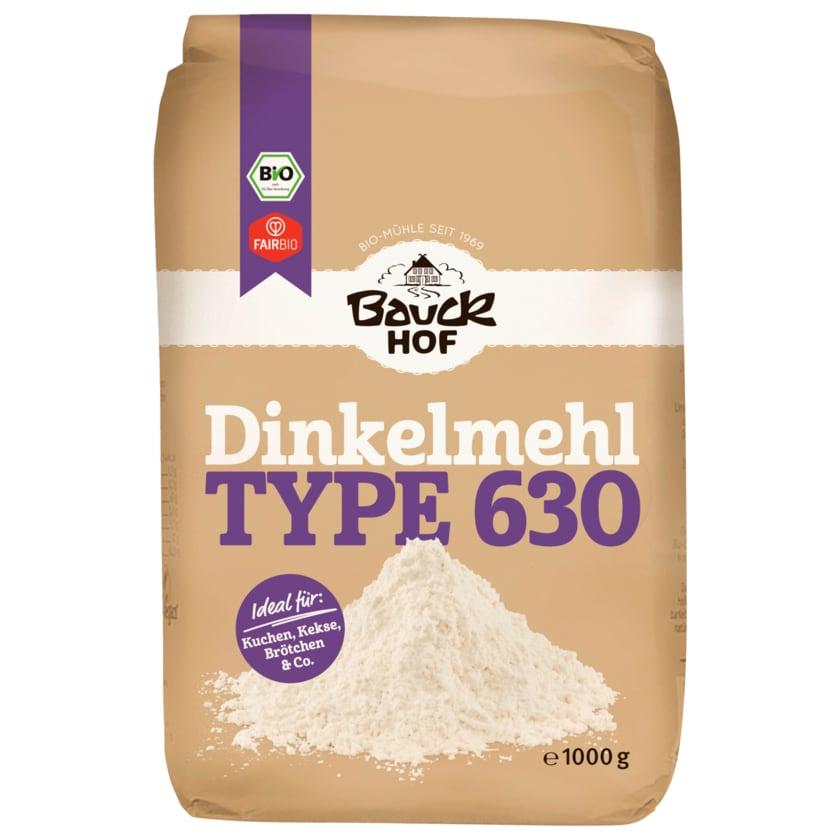 Bauckhof Bio Dinkelmehl hell Type 630 1kg