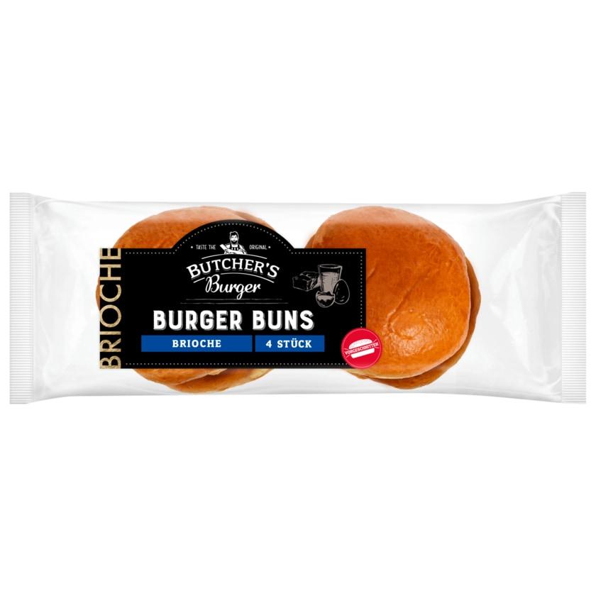 Butcher's Burger Brioche Burger Buns 250g