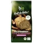 Bio Zentrale Kraft der Natur Saatenbrot Chia- & Leinsamen 500g