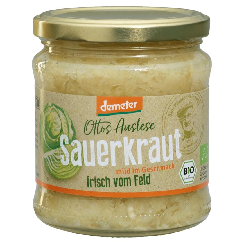 Ottos Auslese Demeter Bio Sauerkraut 370ml