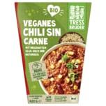 Tress Brüder Bio Veganes Chili sin Carne Soja-Hack mit Naturreis 420g