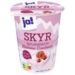 ja! Skyr Himbeer-Cranberry 500g