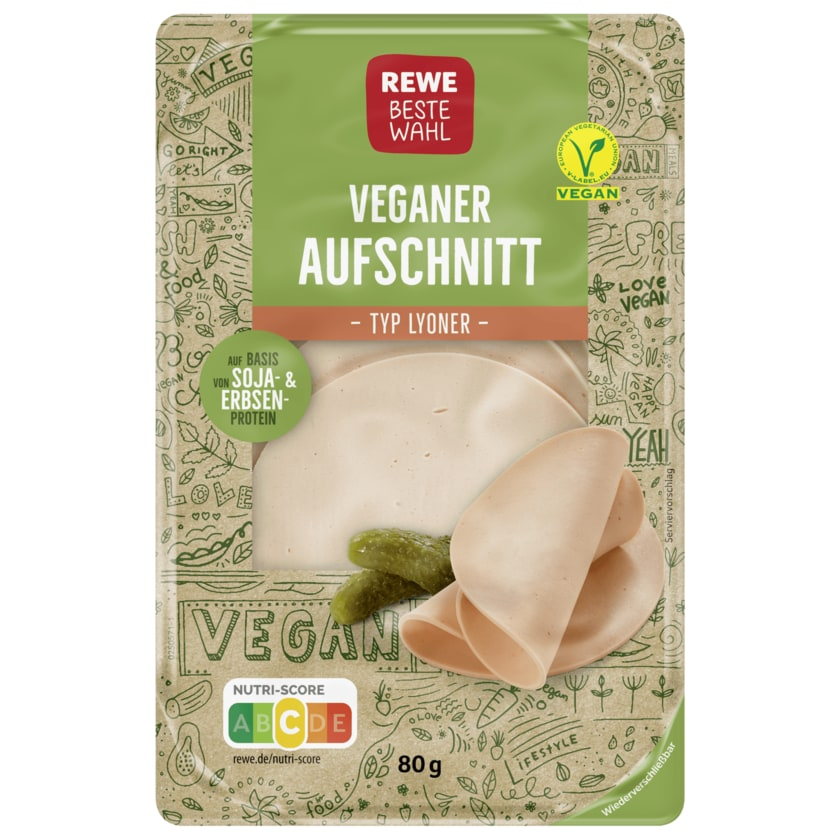 Rewe Beste Wahl Vegane Lyoner 80g