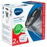 BRITA Wasserfilter-Kanne Marella XL graphit inkl. 2 MAXTRA+
