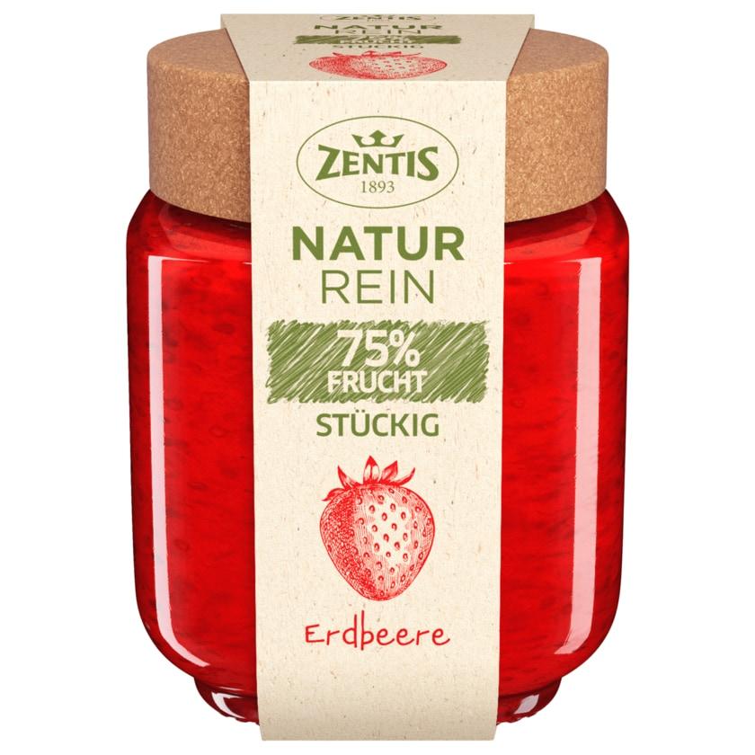 Zentis Natur Rein Fruchtaufstrich 75% Frucht Erdbeere 200g
