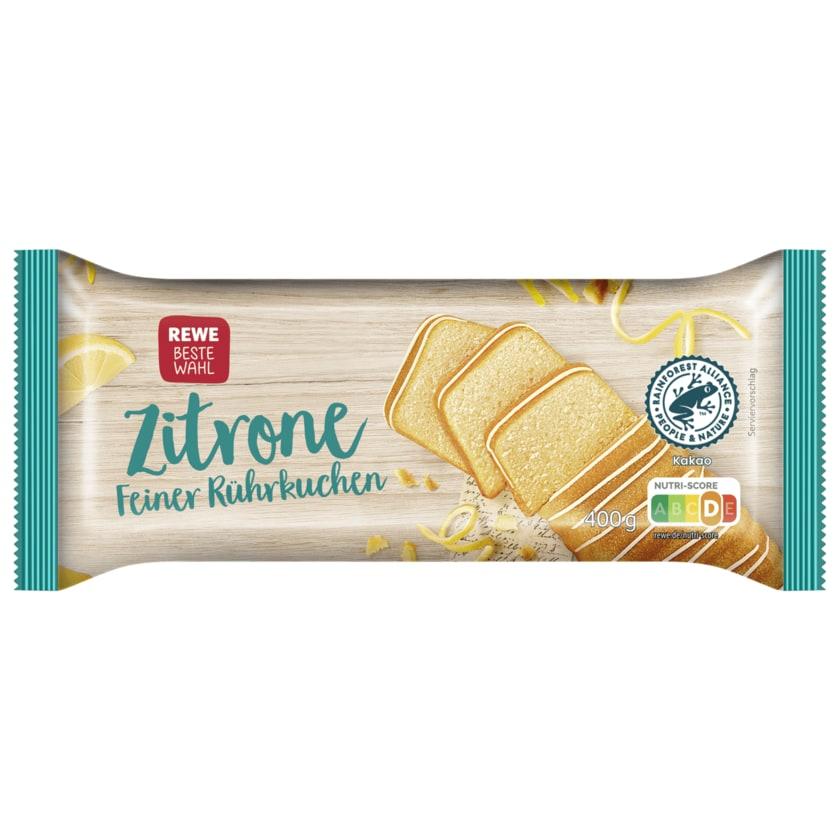 REWE Beste Wahl Rührkuchen Zitone 400g