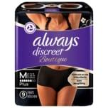 Always Discreet Boutique Inkontinenz Pants Black M 9 Stück