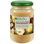 Rewe Bio Apfel-Quitten-Birne Bananenmark 360g