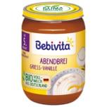 Bebivita Abendbrei Grieß-Vanille 190g