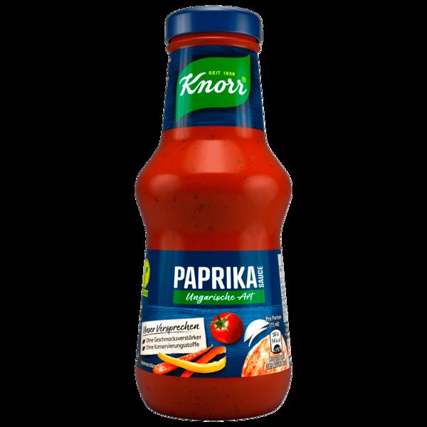 Knorr Paprika Sauce Ungarische Art 250ml