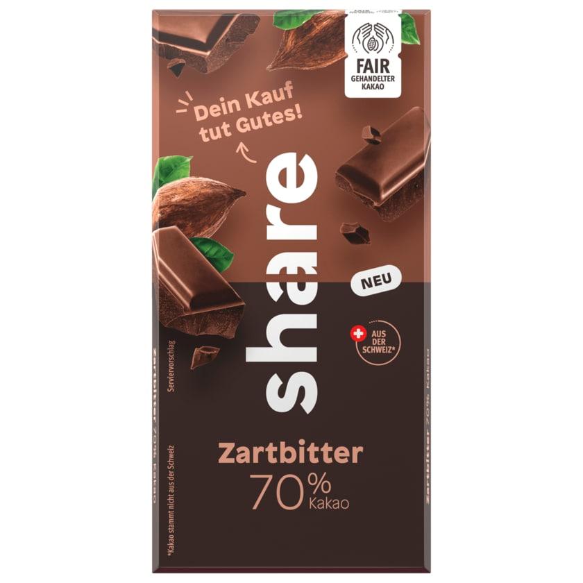 share Schokolade Zartbitter 70% Kakao 100g