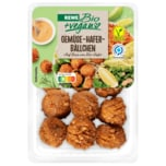 REWE Bio + vegan Gemüse-Hafer-Bällchen 220g