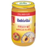 Bebivita Bio Früchtebrei Pfirsich mit Maracuja in Apfel 250g