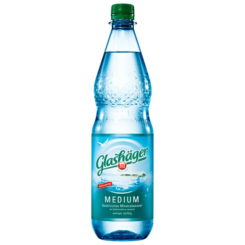 Glashäger Mineralwasser Medium 1l