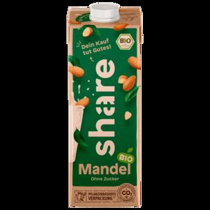 Share Bio-Mandel-Drink ungesüßt vegan 1l