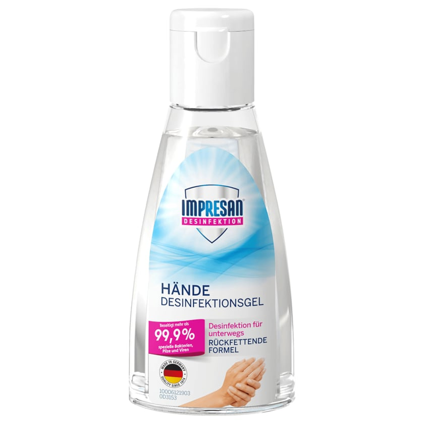 Impresan Desinfektionsgel Hände 50ml