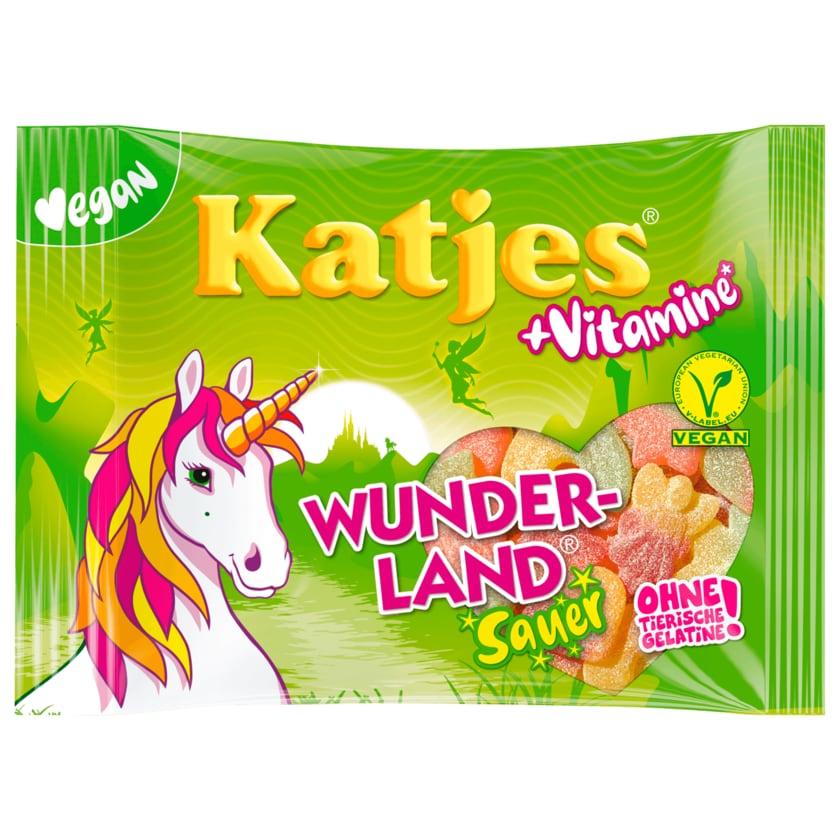 Katjes Fruchtgummi Wunderland + Vitamine Sauer vegan 175g