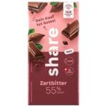 share Schokolade Zartbitter 55% Kakao 100g