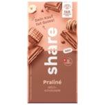 share Milchschokolade Praliné 100g