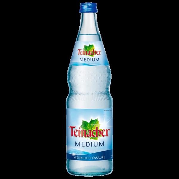 Teinacher natürliches Mineralwasser Medium 0,7l