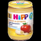 Hipp Frucht & Getreide Apfel-Bananen-Müsli 190g