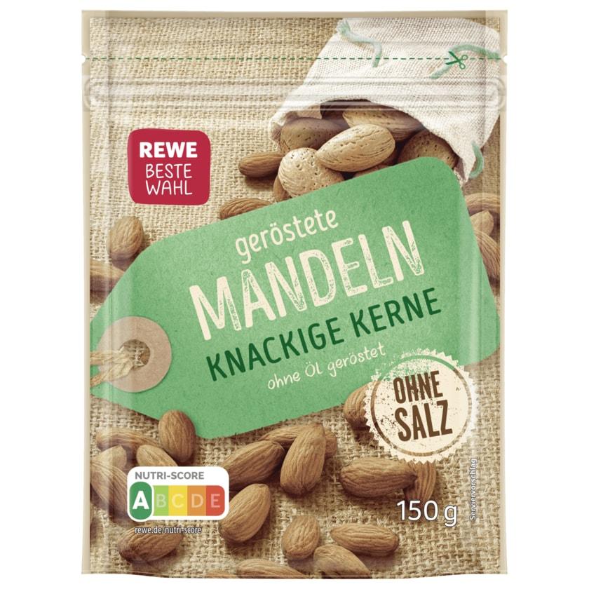 REWE Beste Wahl geröstete Mandeln ohne Salz 150g
