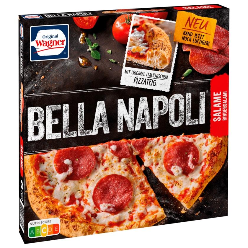 Original Wagner Ernst Wagners Bella Napoli Salame Pizza Salami tiefgefroren 430g