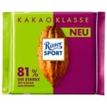 Ritter Sport Kakao Klasse 81% 100g