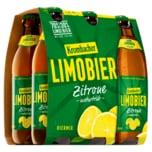 Krombacher Limobier Zitrone naturtrüb 6x0,33l