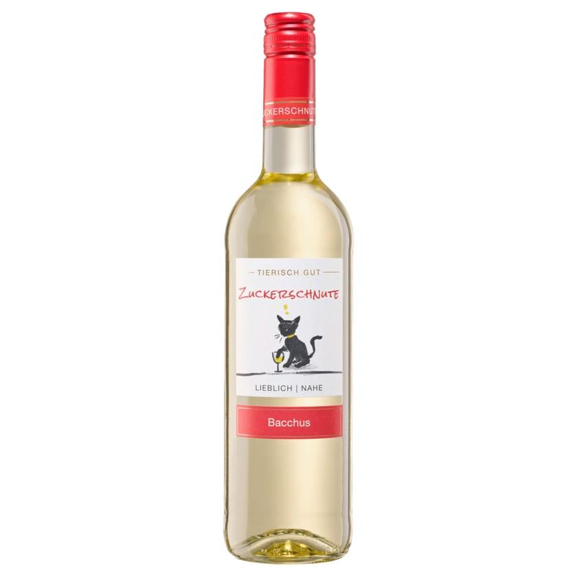 Zuckerschnute Weißwein Bacchus lieblich QbA 0,75l