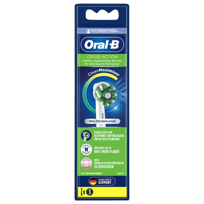 Oral-B Aufsteckbürste Cross Action 3 Stück