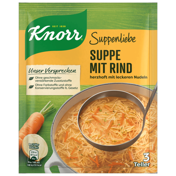 Knorr Suppenliebe Suppe mit Rind 750ml