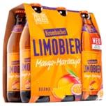 Krombacher Limobier Mango-Maracuja 6x0,33l