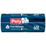 Pely Klimaneutral Profi Müllsack 60l, 15 Stück