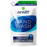 Apart Flüssigseife Handwash Antibakteriell Nachfüllbeutel 500ml