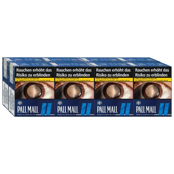 Pall Mall Blue 8x34 Stück