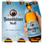 Benediktiner Hell 6x0,33l