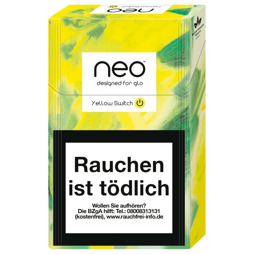 Neo Sticks Yellow Switch 20 Stück