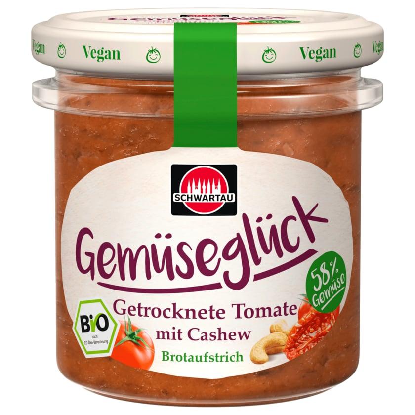 Schwartau Bio Brotaufstrich Gemüseglück Getrocknete Tomate 135g