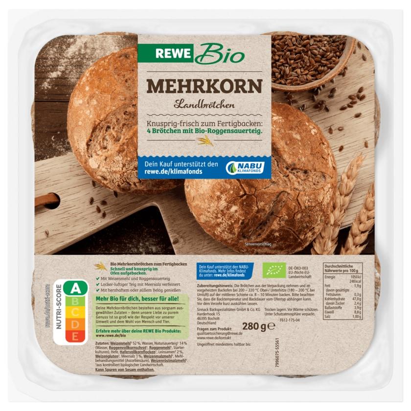 REWE Bio Mehrkorn Landbrötchen 300g