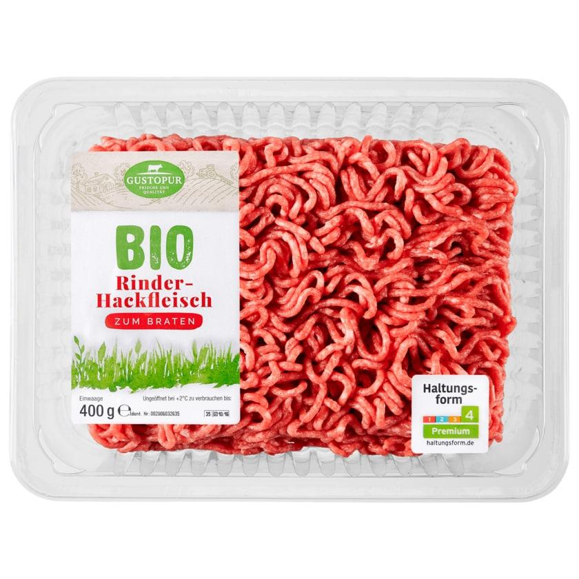 Gustopur Bio Rinder-Hackfleisch 400g