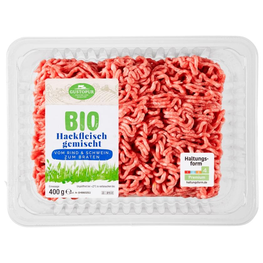 Gustopur Bio Hackfleisch gemischt 400g