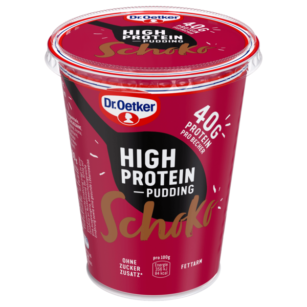 Dr. Oetker High Protein Pudding Schoko 400g