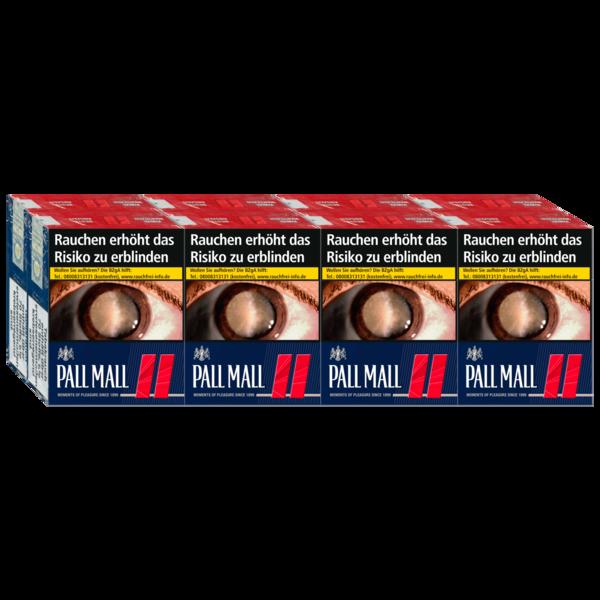 Pall Mall Red 8x34 Stück