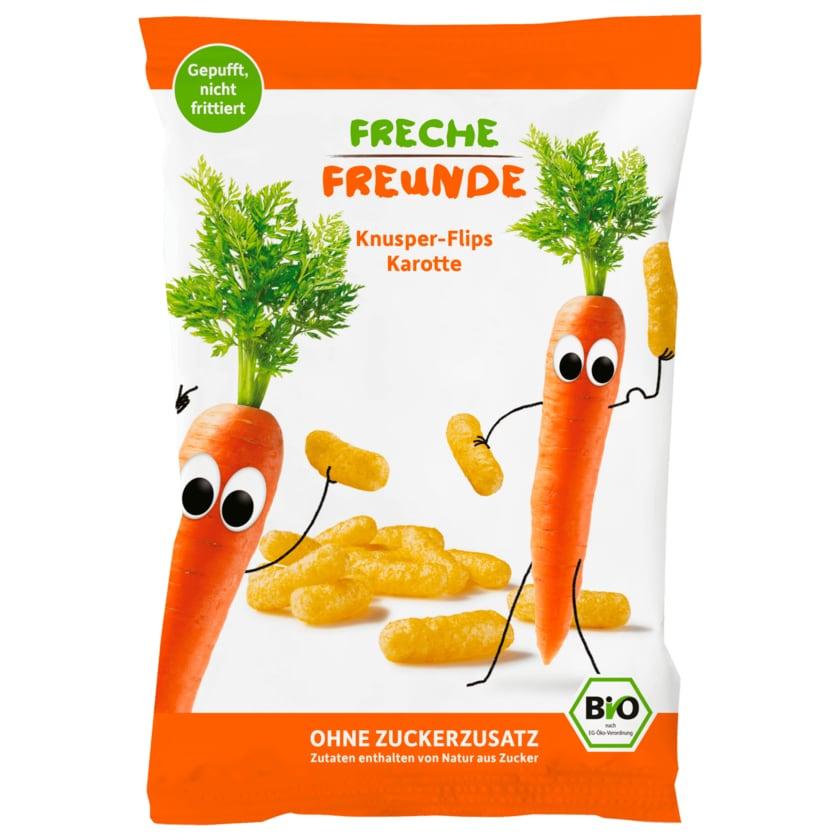 Freche Freunde Knusper-Flips Bio Karotte 30g